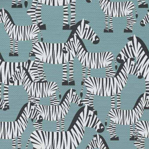 Tafelkleed Zebra illustratie patroon