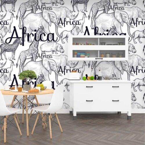 Fotobehang Wild Africa