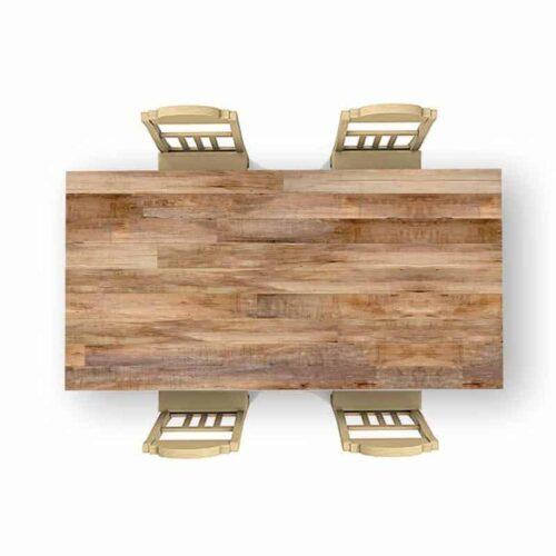 Tafelsticker houten planken patroon 14