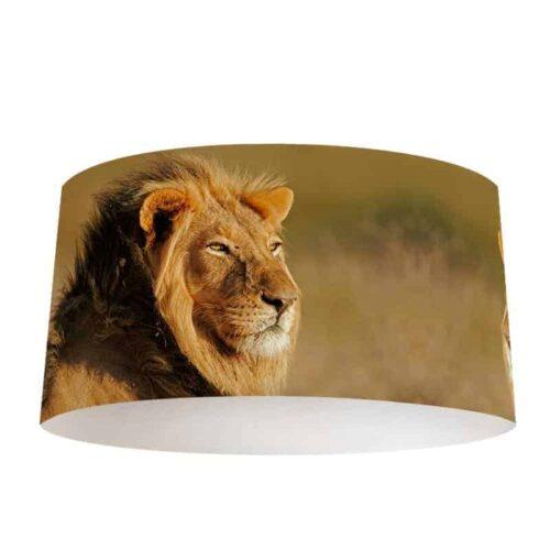 Lampenkap Luie leeuw