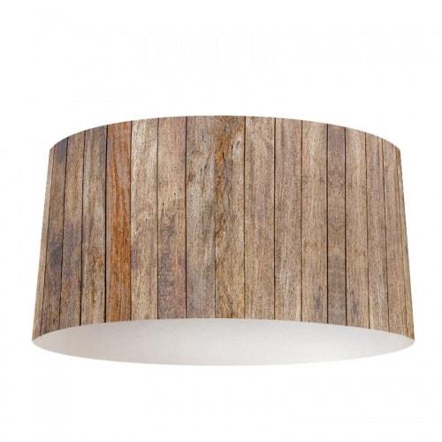 Lampenkap hout patroon antiek 2