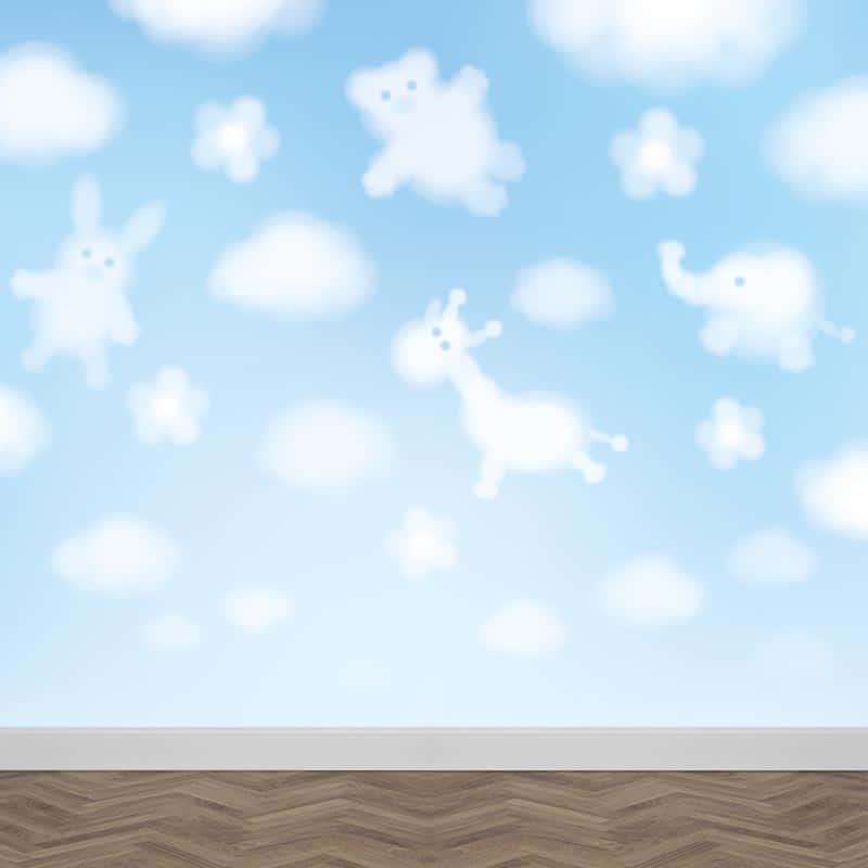 Fotobehang Dieren in de wolken