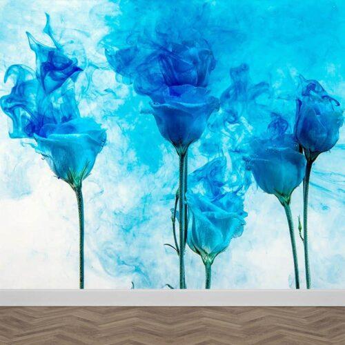Fotobehang Artistieke bloemen
