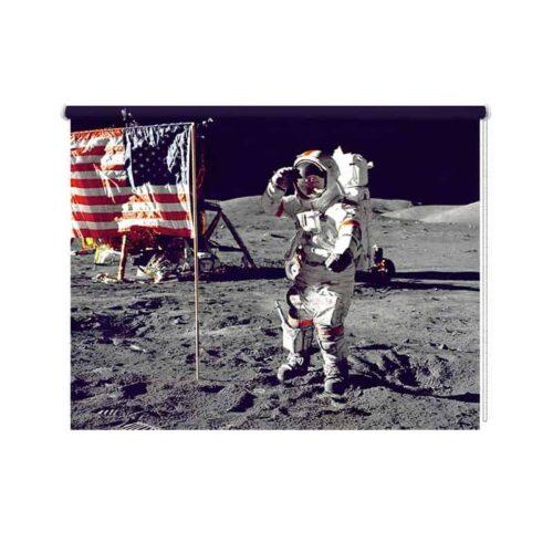 Rolgordijn Astronaut