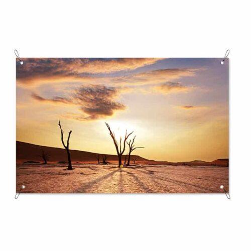 Tuinposter Woestijnlandschap