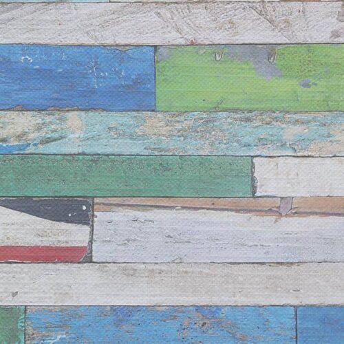 Tafelkleed Gekleurd hout patroon 3