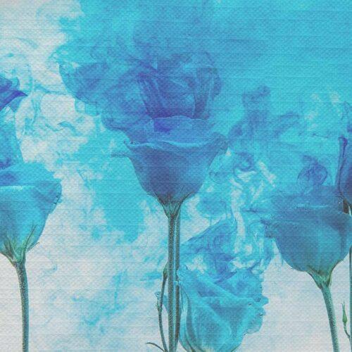 Tafelkleed Artistieke bloemen