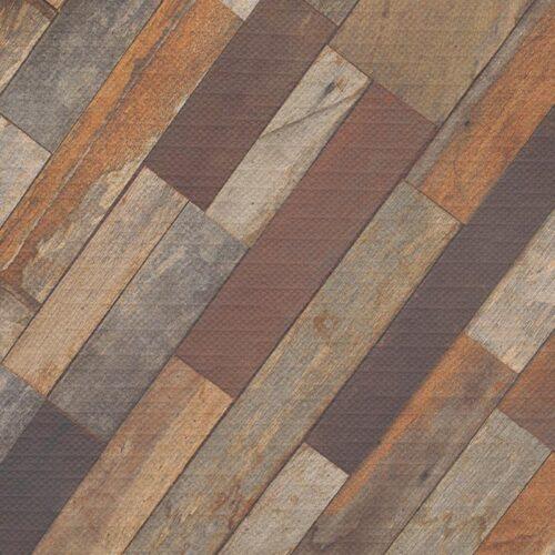 Tafelkleed Antiek hout patroon