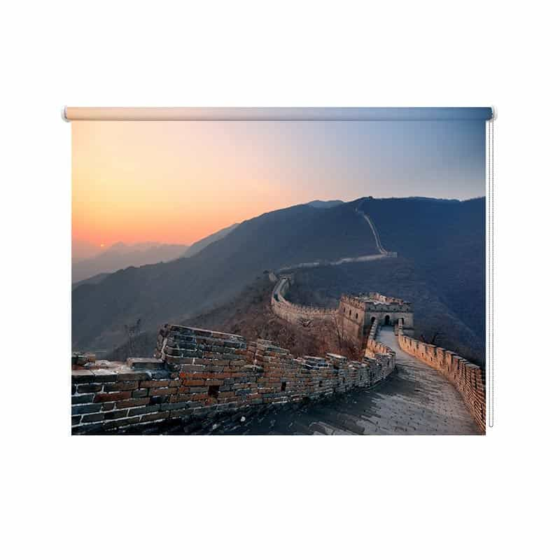 Rolgordijn Chinese muur