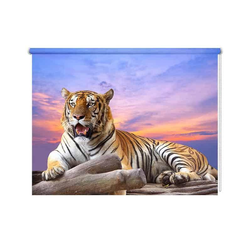 Rolgordijn Bengaalse tijger