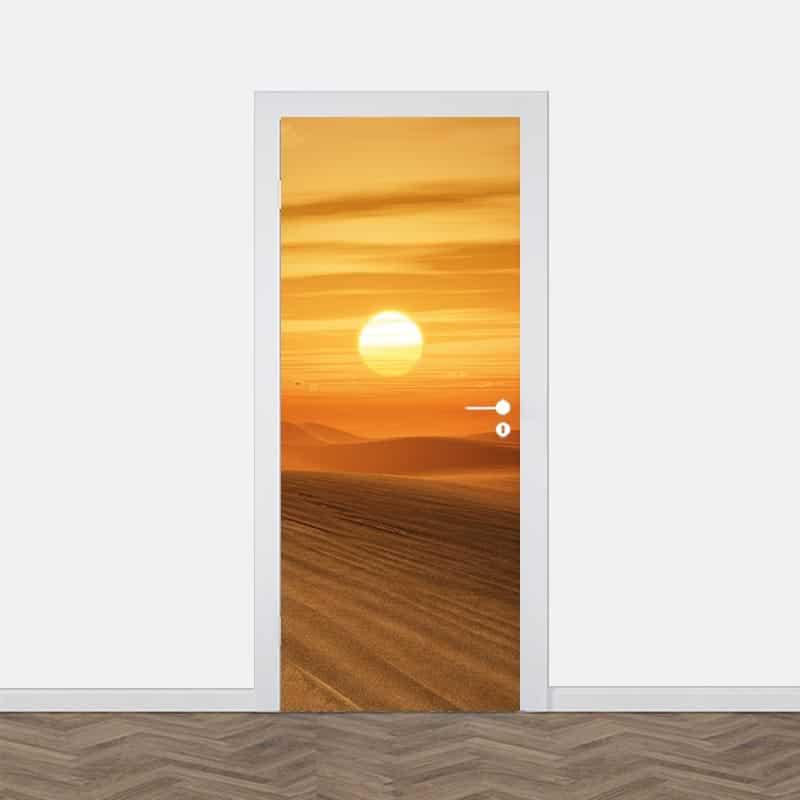 Deursticker Woestijn