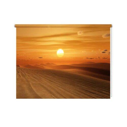 Rolgordijn Woestijn