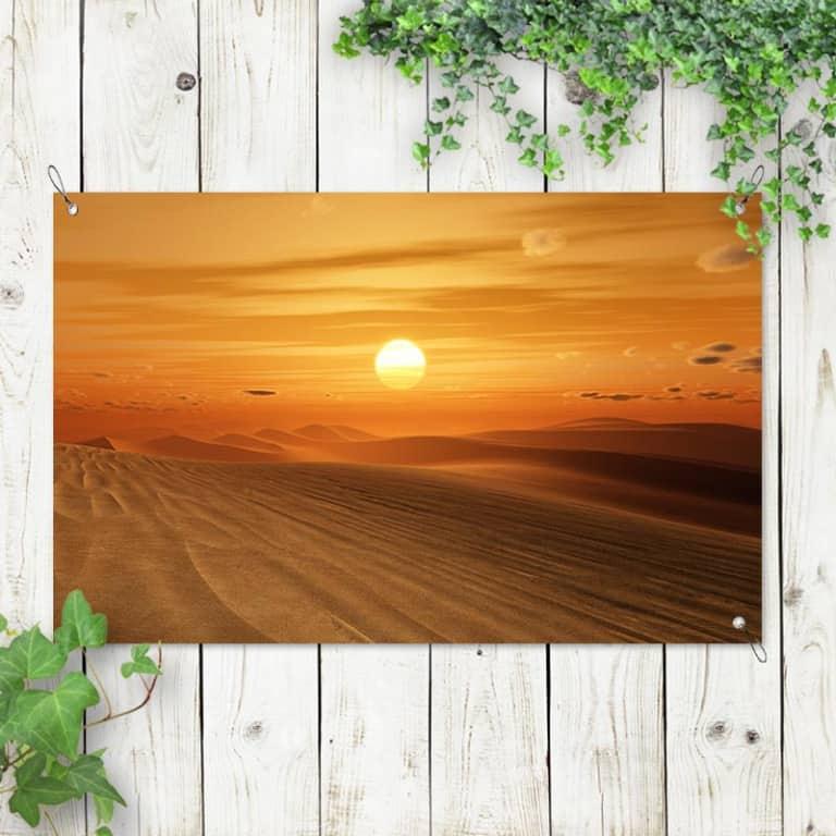 Tuinposter Woestijn