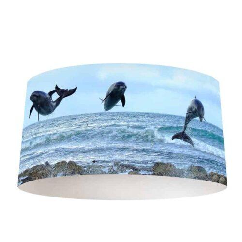 Lampenkap Dolfijnen trio