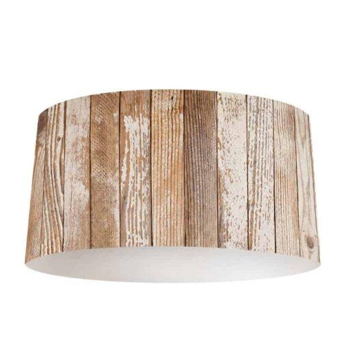 Lampenkap hout patroon 18