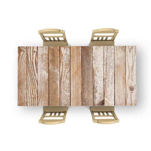 Tafelsticker hout patroon 18