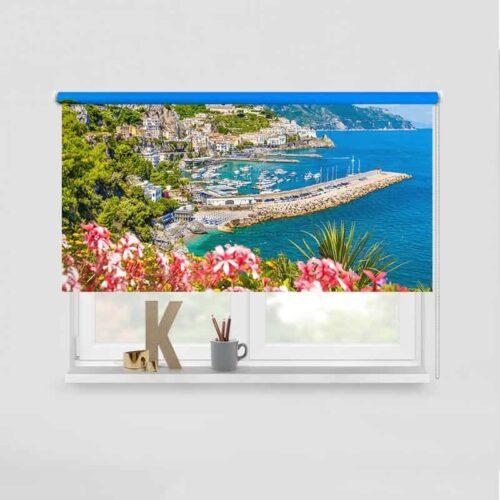 Rolgordijn Amalfi kust
