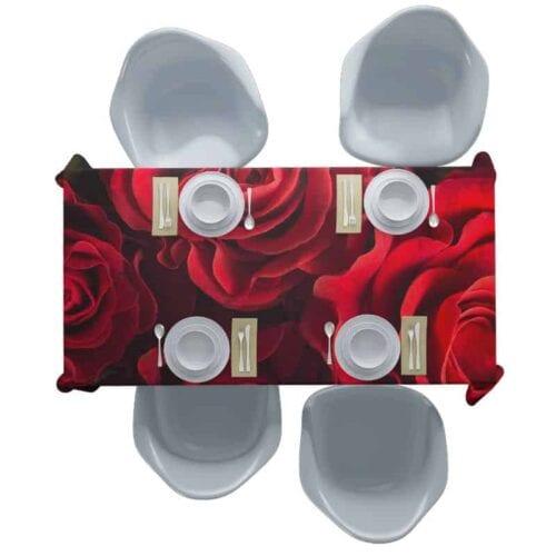 Tafelkleed Rode rozen