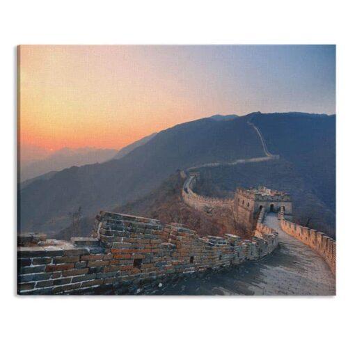 Canvas Chines muur