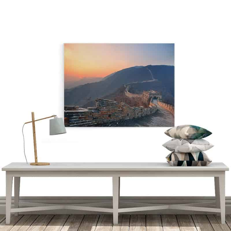 Canvas Chines muur