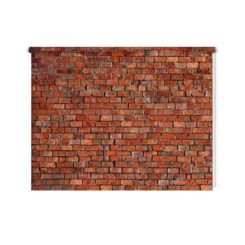Rolgordijn Bakstenen muur 1