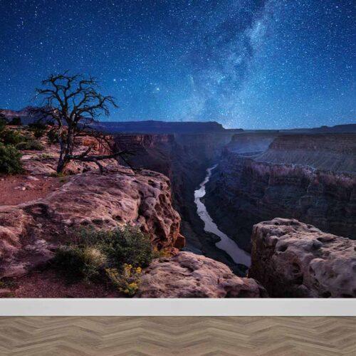 Fotobehang Grand Canyon view