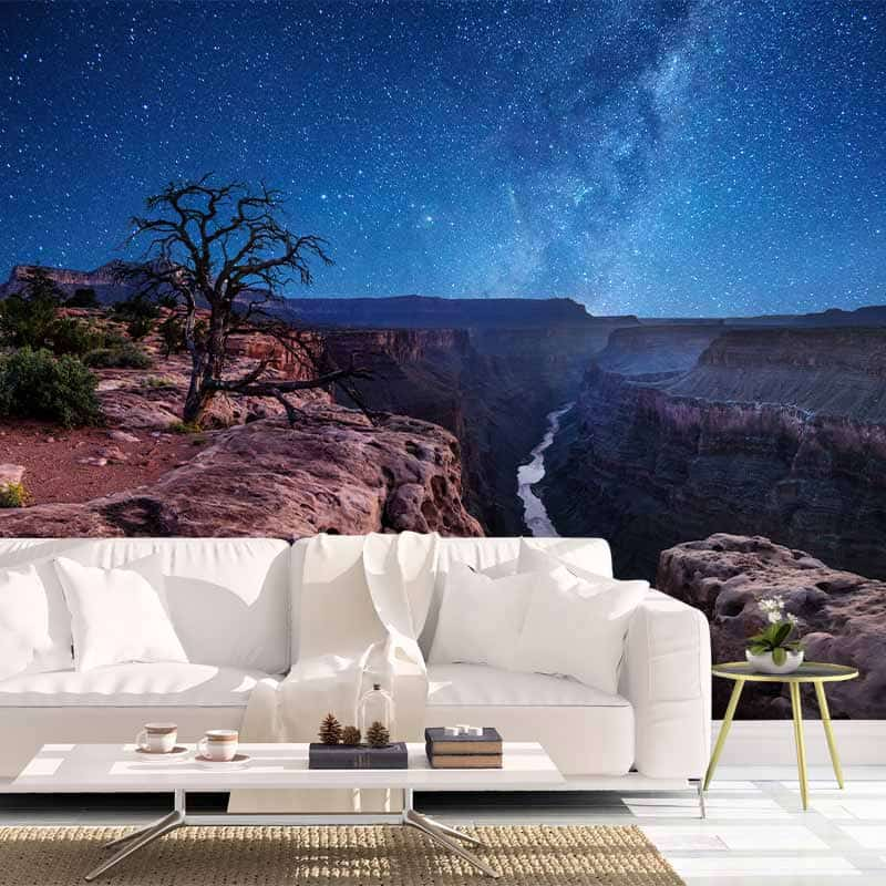 Fotobehang Grand Canyon view