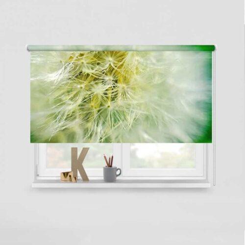 Rolgordijn Dandelion groen