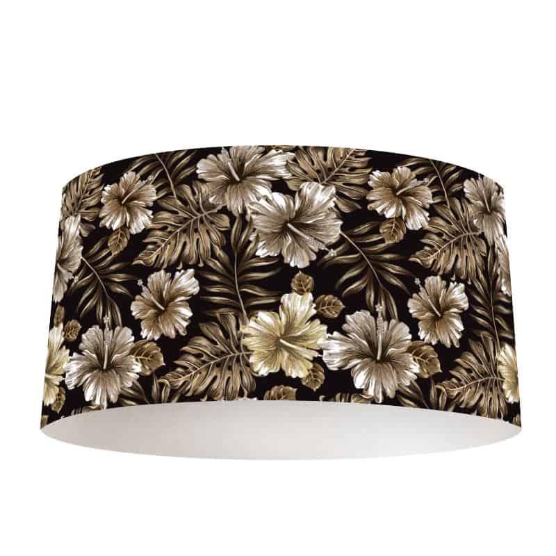 Lampenkap Tropisch vintage patroon