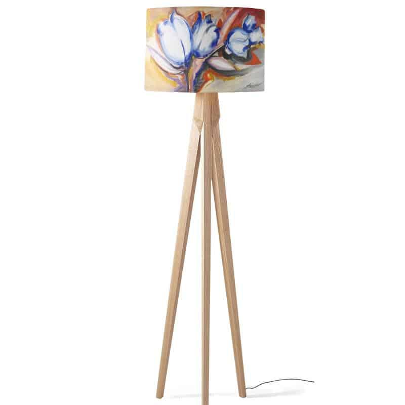 Lampenkap Pictorial flowers
