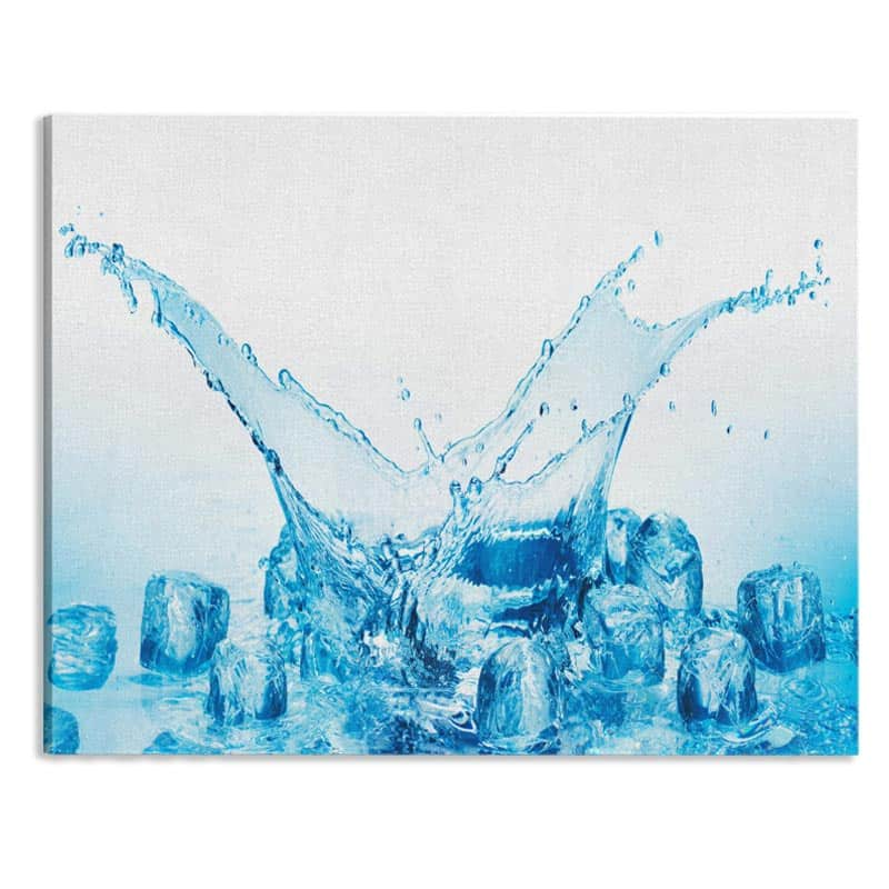 Canvas Watersplash