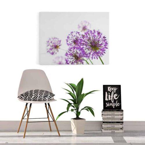 Canvas Sierui bloemen