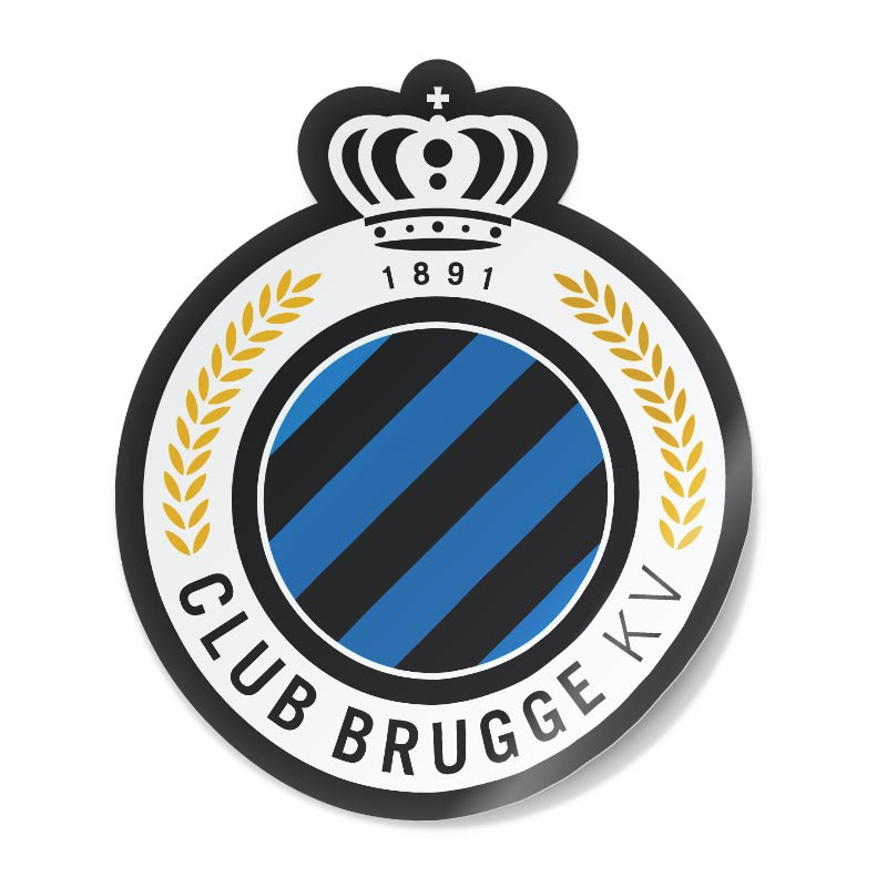 Sticker logo Club Brugge
