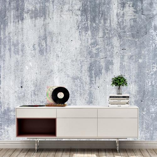 Fotobehang beton grijs