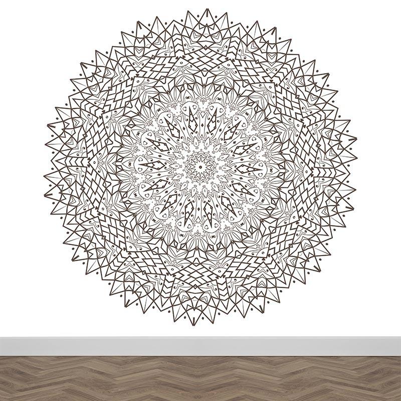 Fotobehang Mandala patroon 3