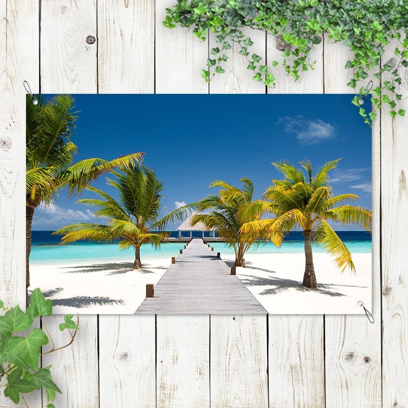 Tuinposter Paradijs