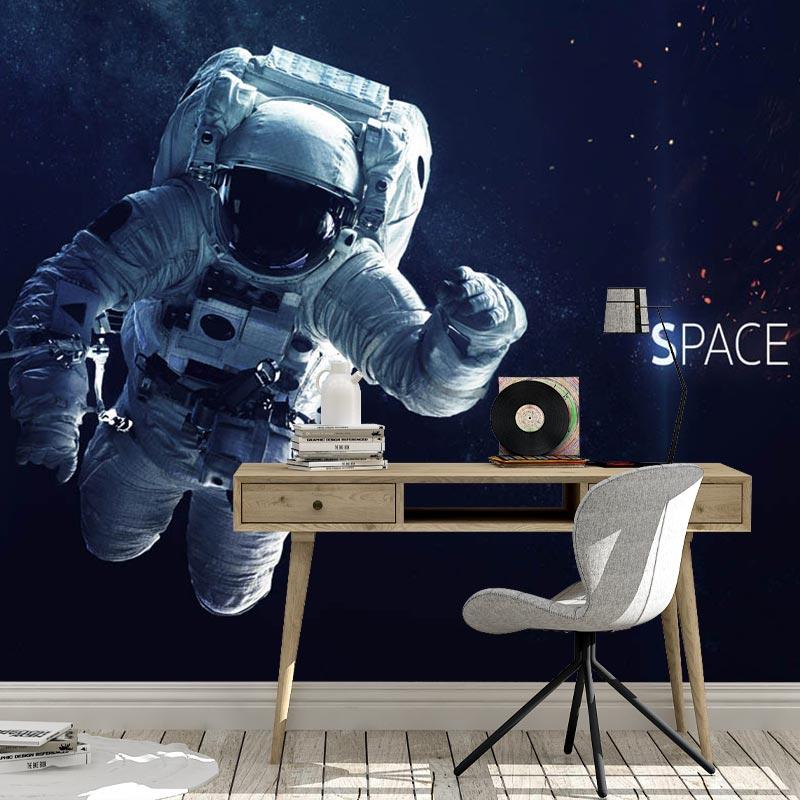 Fotobehang Astronaut in de ruimte