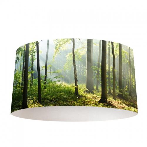 Lampenkap Zonsopgang in bos