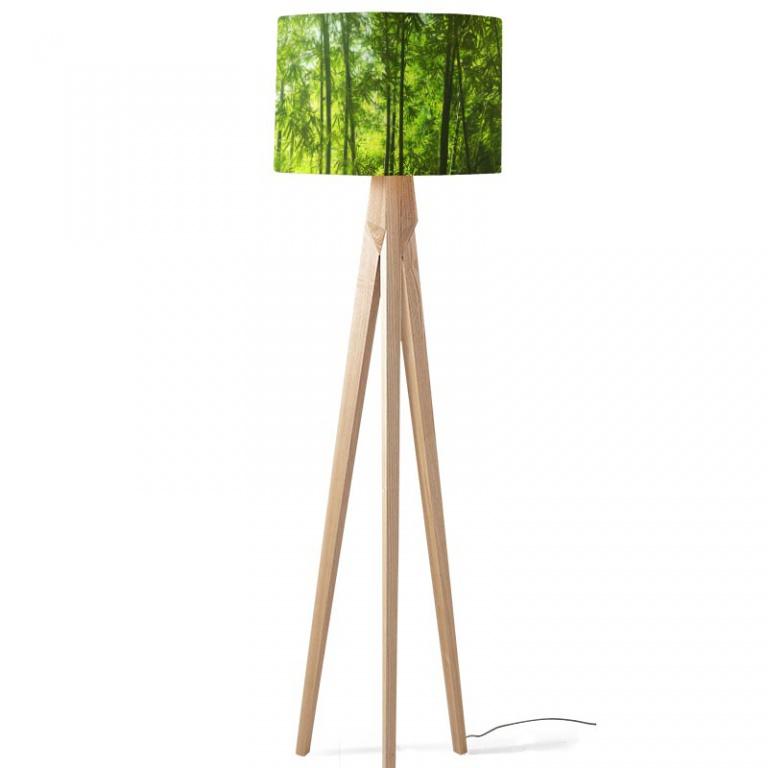 Lampenkap bamboe jungle