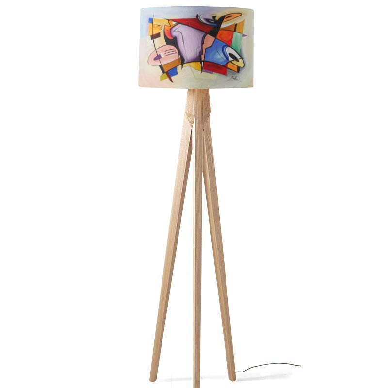 Lampenkap coloured shapes 2