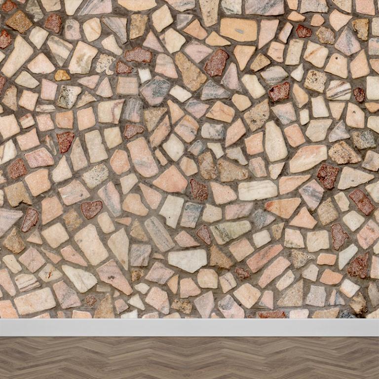Fotobehang Mediterraanse muur