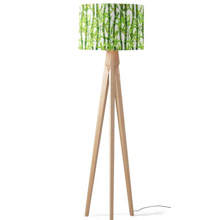 Lampenkap Bamboe in aquarel
