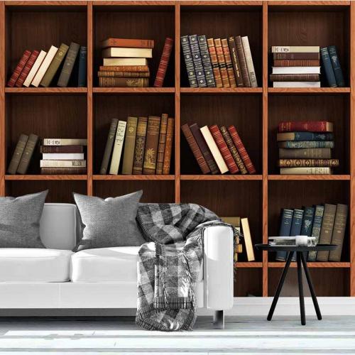 Fotobehang Boekenkast