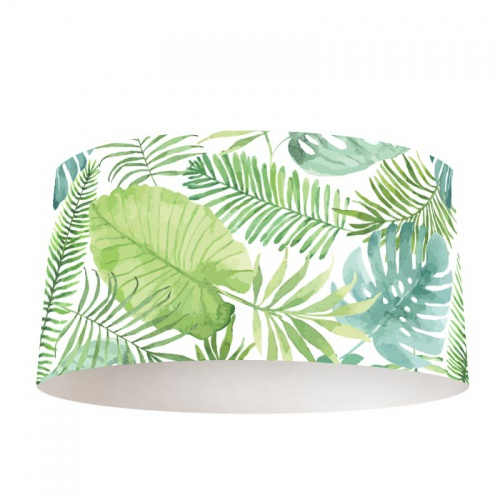 Lampenkap Tropische bladeren patroon 6