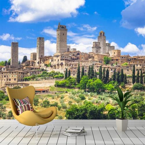 Fotobehang-Landschap-Toscane