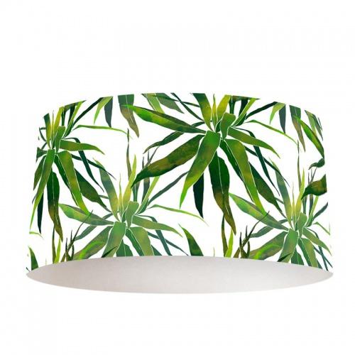 Lampenkap Tropische bladeren patroon aquarel