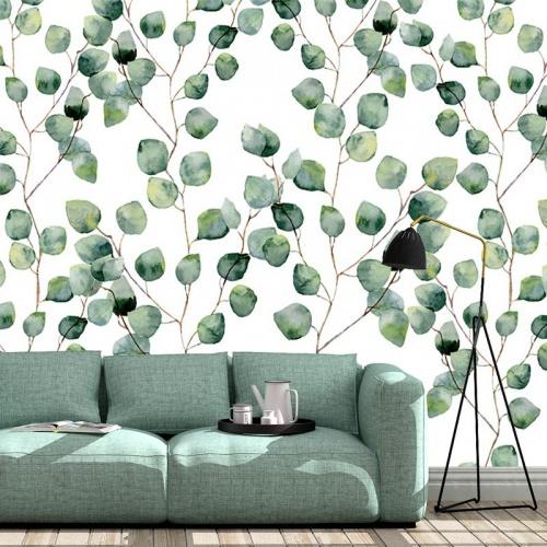 Fotobehang Eucalyptus-Blaadjes