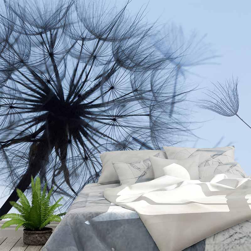 Fotobehang Dandelion in detail 2