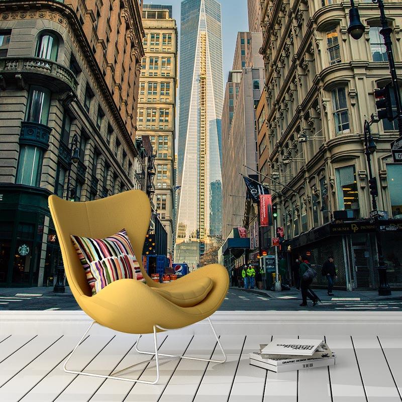 Fotobehang-Manhattan-road