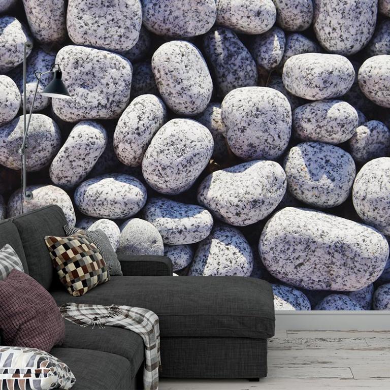 Fotobehang Stenen-muur-patroon-3